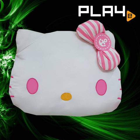 Hello Kitty 40cm Sailor Face Cushion - Pink