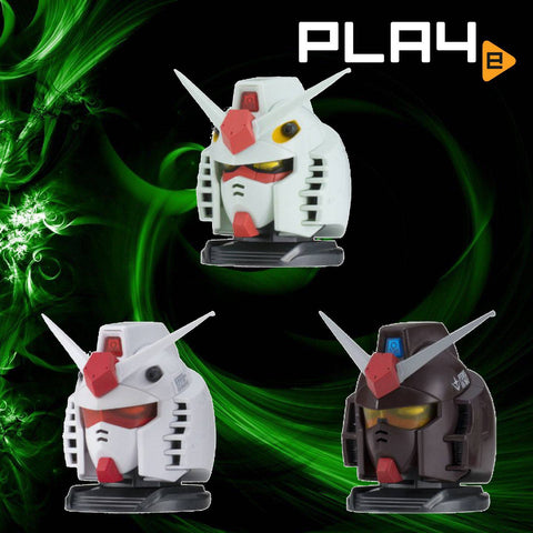 Exceed Model Gundam Head vol. 2 (Set of 3)
