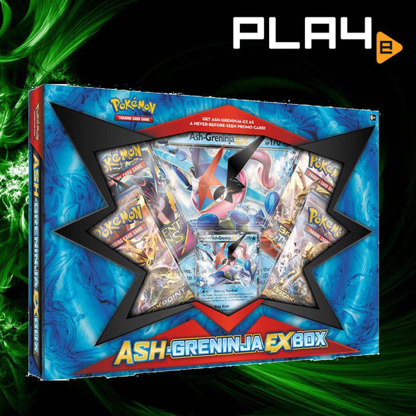 Pokemon Ash-Greninja EX Box