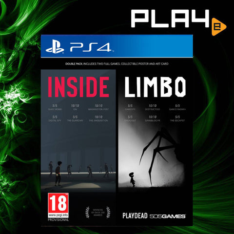 PS4 Inside / Limbo Double Pack (R2)