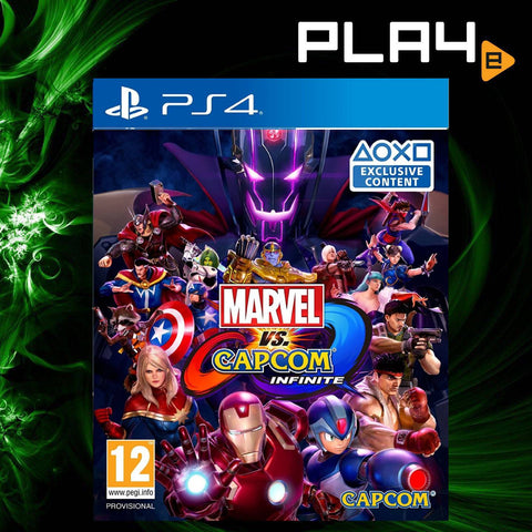 PS4 Marvel VS Capcom Infinite (Region 2)