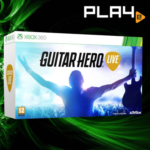 XBox 360 Guitar Hero Live Bundle
