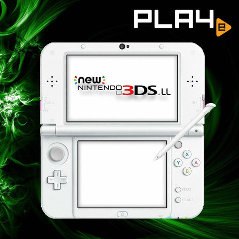 3DS LL New Console Pearl White (without adaptor)
