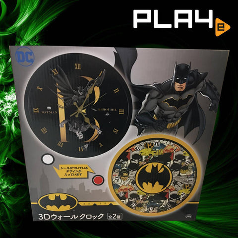 DC Comics Batman Analog Clock - Batman Joker