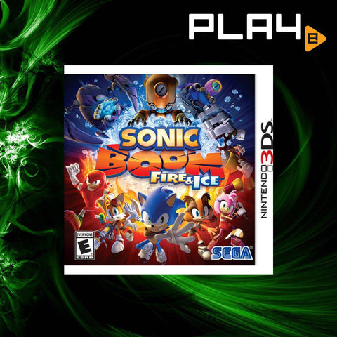 3DS Sonic Boom Fire & Ice
