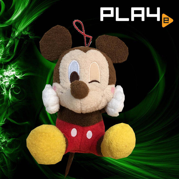 "Disney 6"" Furry Mickey Mouse"