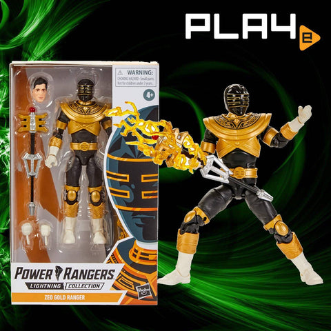 "Power Rangers Lightning E5906AS04 6"" Zeo Gold Ranger"