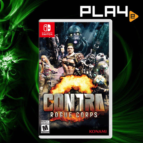 Nintendo Switch Contra: Rogue Corps (Local)
