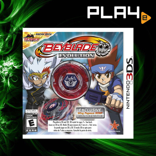 3DS Beyblade Evolution with Beyblade (English)
