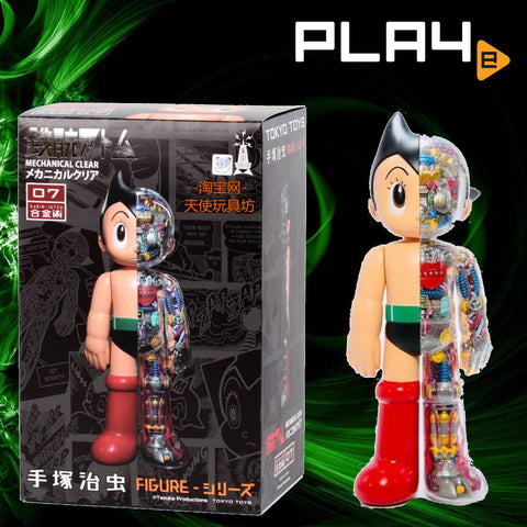 Tokyo Toys 07 Astro Boy Mechanical Clear Figure