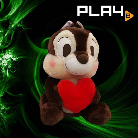 "Chip & Dale with Heart 15"" - Chip Black Nose"