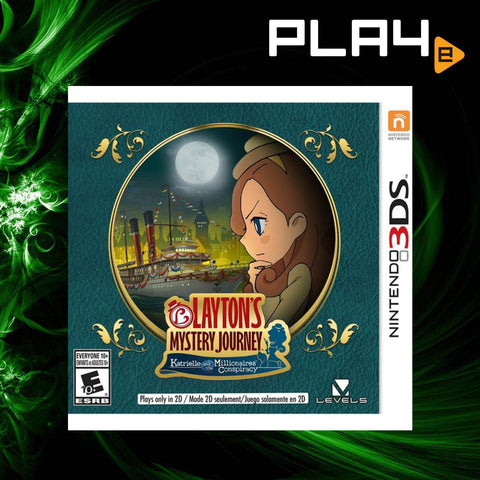 3DS Layton's Mystery Journey: Katrielle and the Millionaire's Conspiracy (English)