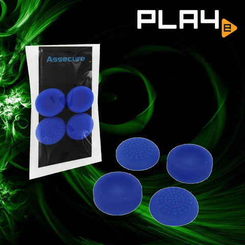 PS4 Zedlabz silicone Thumbs Grips - Blue