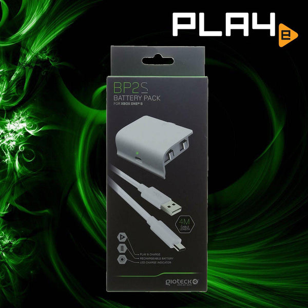 XBox One Gioteck BP2S Battery Pack - White