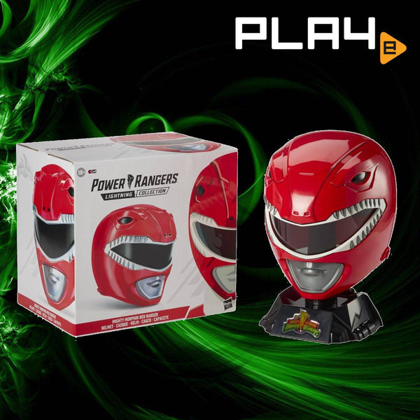 Power Rangers Lightning E81635L00 Red Ranger Helmet
