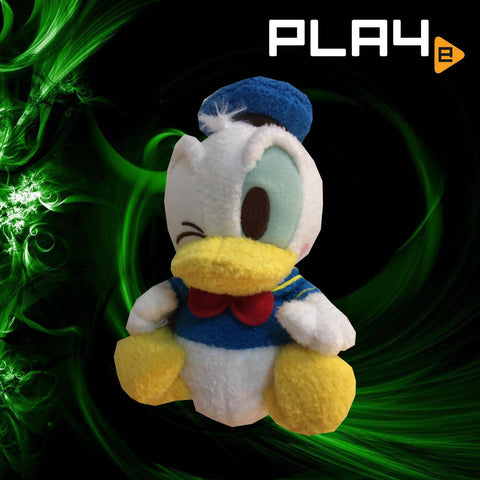 "Disney 6"" Furry Donald Duck"