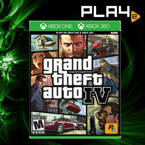 XBox One/ 360 Grand Theft Auto IV