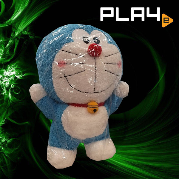 "Doraemon 20"" Big Plush Both Hands Up In Air"