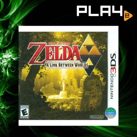 3DS The Legend of Zelda: A Link between Worlds (English)