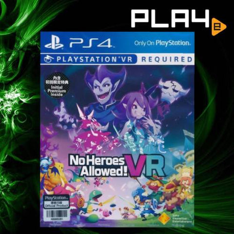 PS4 VR No Heroes Allowed (R3)