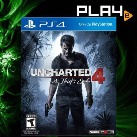 PS4 Uncharted 4 A Thief's End (R1)