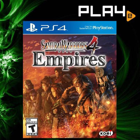 PS4 Samurai Warriors 4 Empires (R1)