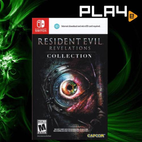 Nintendo Switch Resident Evil Revelation Collection