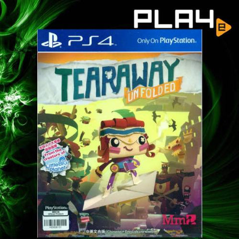 PS4 Tearaway Unfold (R3)