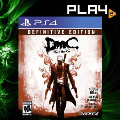 PS4 DMC Devil May Cry Definitive Edition (R1)