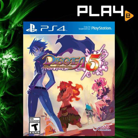 PS4 Disgaea 5 : Alliance of Vengeance (ENG)