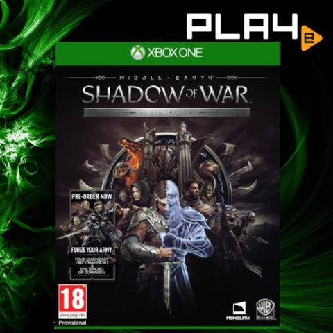 XBox One Middle Earth Shadow of War (Silver Edition)