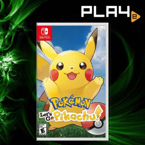 Nintendo Switch Pokemon: Let's Go Pikachu