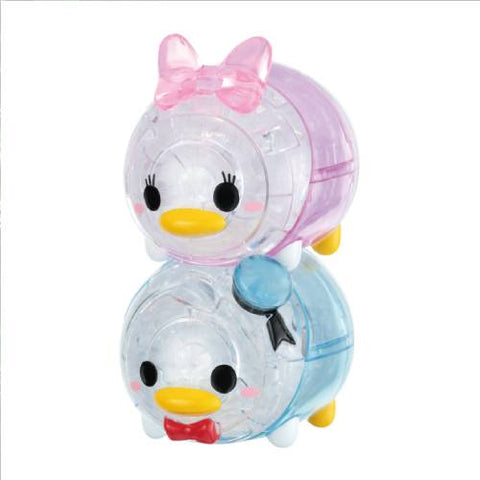Disney Crystal Gallery ~  Daisy & Donald (46PCS)