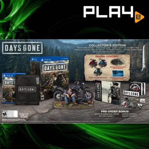 PS4 Days Gone (R3) Collector's Edition