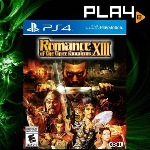 PS4 Romance of Three Kingdoms 13 (R1/R2_ENG)