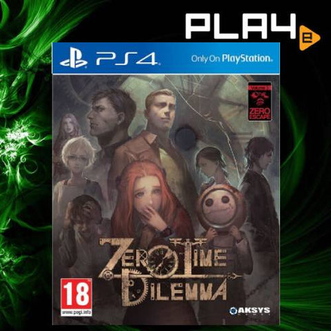 PS4 Zero Escape: Zero Time Dilemma M18 (R2)
