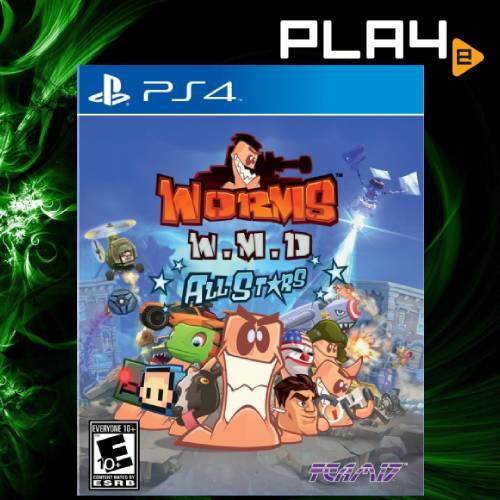 PS4 Worms Wmd All Stars