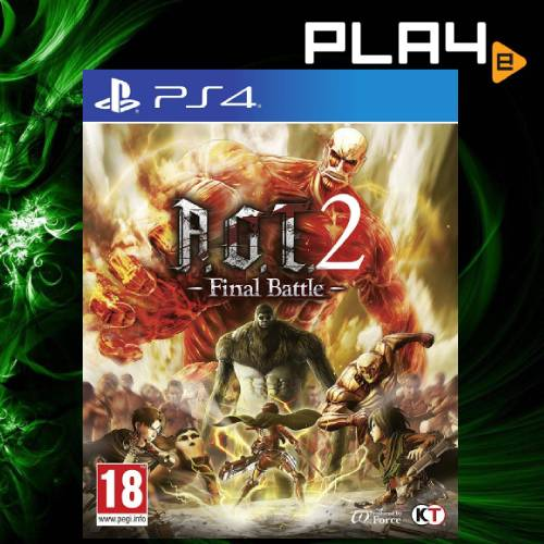 PS4 Attack on Titan 2 Final Battle
