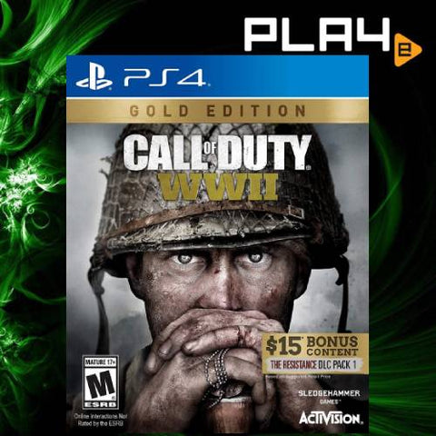 PS4 Call of Duty WWII Gold Edition (R1)