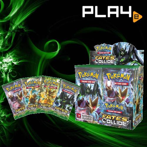 Pokemon XY10 Fates Collide Booster Box