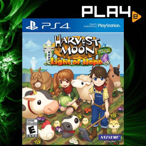 PS4 Harvest Moon Light of Hope