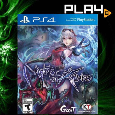 PS4 Nights of Azure (R1)