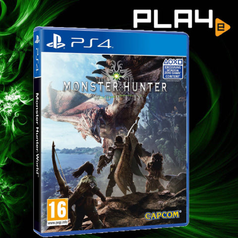 PS4 Monster Hunter World (R2)