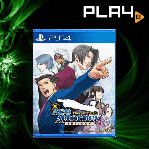PS4 Phoenix Wright Ace Attorney Trilogy (R3)