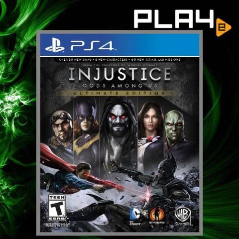 PS4 Injustice God Among Us Ultimate Edition