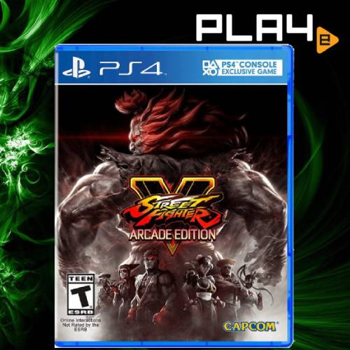 PS4 Street Fighter 5 [Arcade Edition] (R1)