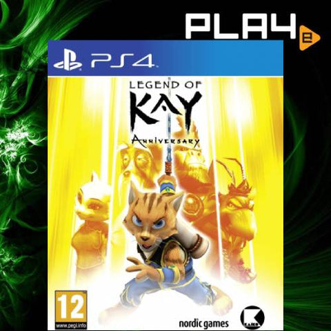 PS4 Legend Of Kay Anniversary Edition (R2)