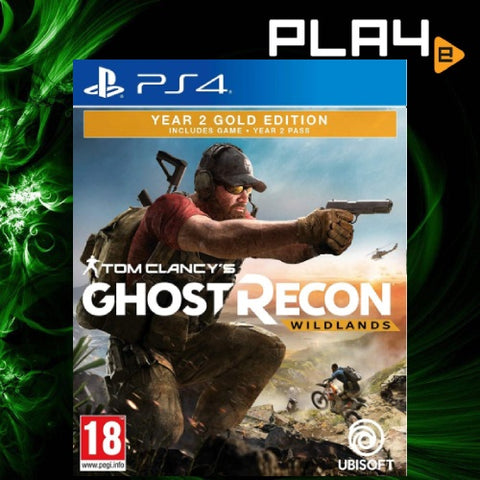 PS4 Tom Clancy's Ghost Recon Wildlands Year 2 Gold
