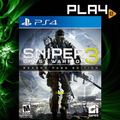 PS4 Sniper: Ghost Warrior 3 - Season Pass Edition