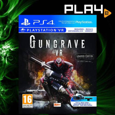 PS4 VR Gungrave
